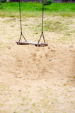 качание спортивной площадки Стоковое Фото