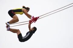 качание спортов встречи игр Стоковое Фото