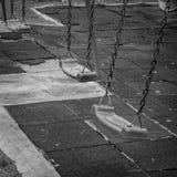 Качание - черно-белое Стоковые Изображения
