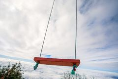 Качания в небесах Стоковые Фотографии RF