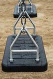 Качания в общественном парке Стоковое фото RF