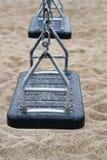 Качания в общественном парке Стоковые Фотографии RF