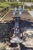 Качания в спортивной площадке Стоковое Фото