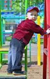 качания мальчика Стоковые Фотографии RF
