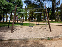 Качания на парке Стоковые Изображения RF