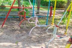 Качания спортивной площадки Стоковая Фотография RF