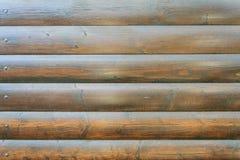 Качественная стена деревянных планок Стоковое Изображение