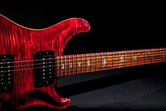 Качественная электрическая гитара Стоковые Фотографии RF