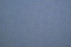 Качественные точки польки на белье эко-хлопка Стоковая Фотография