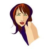 качество девушки новообращенного красотки более лучшее сырцовое иллюстрация штока