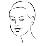 качество девушки новообращенного красотки более лучшее сырцовое Сторона женщины моды красивая чернила Стоковые Изображения