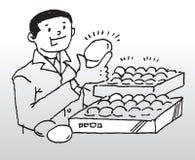 качество яичек Стоковые Фотографии RF