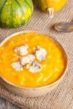 Каша тыквы с сыром Стоковые Изображения RF