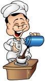 кашевар кофе Стоковые Изображения