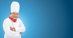 Кашевар шеф-повара Стоковое Фото