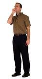 кашлять человек Стоковая Фотография RF