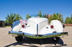 1935 каштановых суживающаяся хвостовая часть лодки модели 851 Стоковое Фото