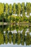 Каяки на воде Стоковые Фото