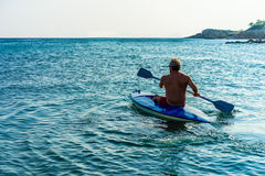 Каяк каное, каное Стоковое Фото