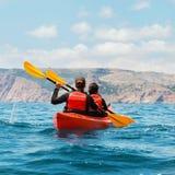 Каяк моря Стоковое фото RF