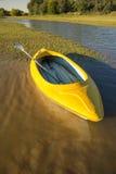 Каяк на озере, Kalahari Стоковые Изображения