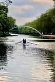 Каяк на реке Стоковое фото RF