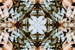 Калейдоскоп с красивым ornamental цвета Стоковое фото RF