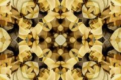 Калейдоскоп с красивым ornamental цвета Стоковое Изображение RF