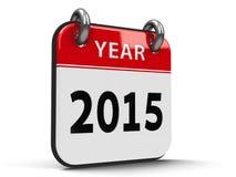 Календарь значка 2015 год isometry Стоковые Изображения