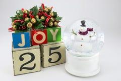 Календарь рождества Стоковая Фотография RF