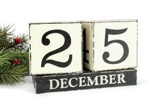 Календарь рождества Стоковые Фото