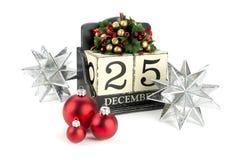 Календарь рождества Стоковая Фотография