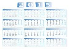 Календарь 2015 стоковые изображения