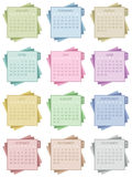 Календарь 2015 Стоковая Фотография