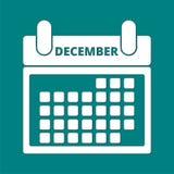 календар декабрь бесплатная иллюстрация