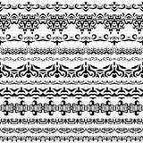 каллиграфический вектор изображения элементов конструкции Стоковое фото RF