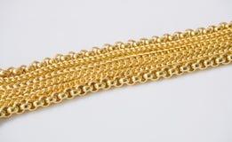 каллиграфический орнамент золота элементов конструкции Стоковое Изображение RF