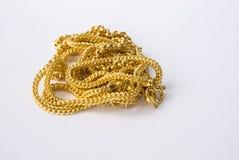 каллиграфический орнамент золота элементов конструкции Стоковые Фотографии RF