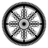 Каллиграфическое колесо Стоковая Фотография