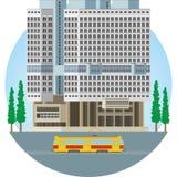 Калининград Дом Советов Бесплатная Иллюстрация
