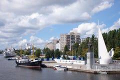 Калининград, Россия Стоковое фото RF