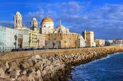 Кадис - красивый город на юге  Испании стоковые фото