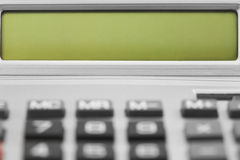 Калькулятор настольного компьютера Стоковые Изображения RF