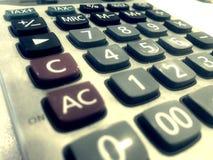 Калькулятор нумерует mathemathic Стоковое фото RF
