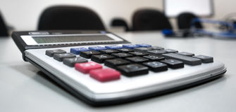 Калькулятор стоковое изображение