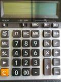Калькулятор Стоковое фото RF