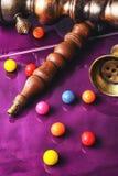 Кальян и жевательная резинка Стоковые Фотографии RF