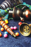 Кальян и жевательная резинка Стоковая Фотография