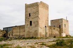 Кальяри, замок Сан Мишели стоковые изображения