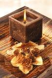 Квадратная свечка Стоковое Изображение RF